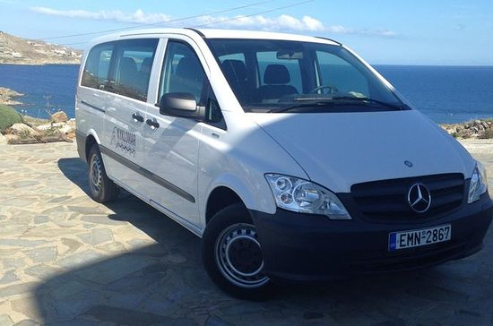 Private Transfers on Mykonos for up to 12 Passengers