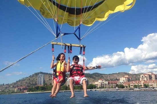 Tandem parasailing for you and a...