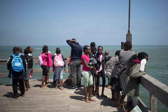 Swakopmund, Namibia: Kids on a field trip