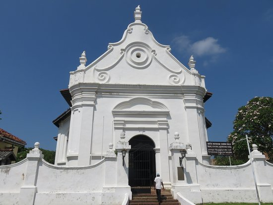 The entrance to Groote Kerk (Dutch Reformed Church)