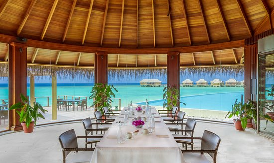 Dusit Thani Maldives: Meeting Setup in Sea Grill