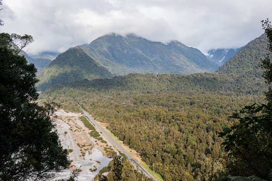Franz Josef, New Zealand: Canavan's Knob lookout (summit)