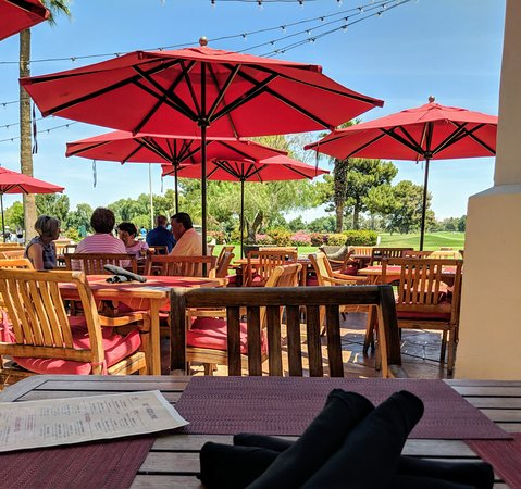 Litchfield Park, AZ : View from outside patio
