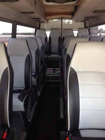 minibus Mercedes sprinter 16 seater (inside) - Picture of