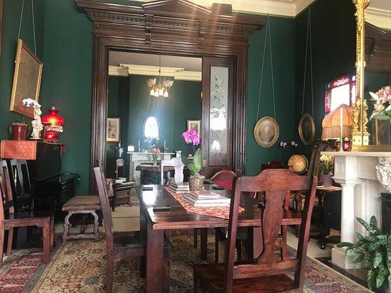 The Inn San Francisco: Le salon où est servi le petit déjeuner