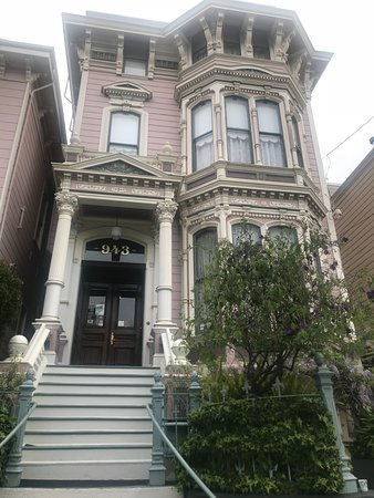 The Inn San Francisco: La façade de ce petit hôtel victorien