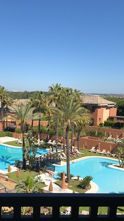 Islantilla Golf Resort Hotel : From the balcony