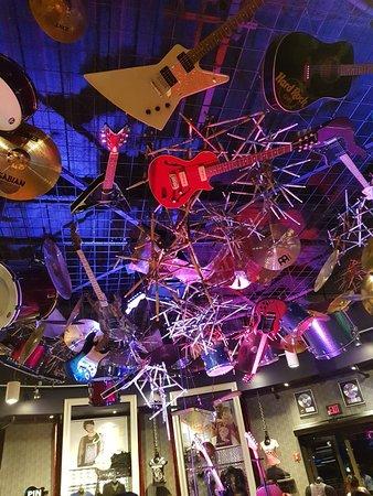 Hard Rock Cafe Orlando Florida Menu