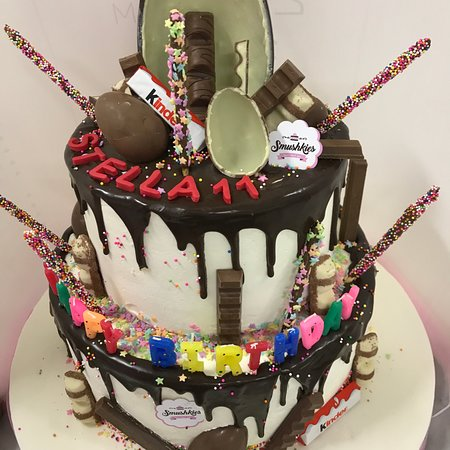 Tremendous Customized Birthday Cake Picture Of Smushkies Beirut Tripadvisor Birthday Cards Printable Giouspongecafe Filternl