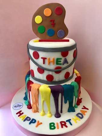 Swell Customized Birthday Cake Picture Of Smushkies Beirut Tripadvisor Birthday Cards Printable Giouspongecafe Filternl