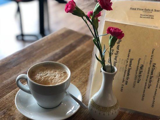 Otford, UK: Morning Latte