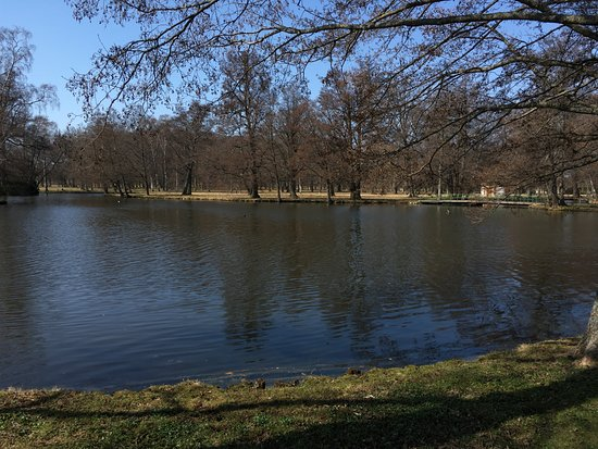 Drottningholm Palace : the lake near the palace