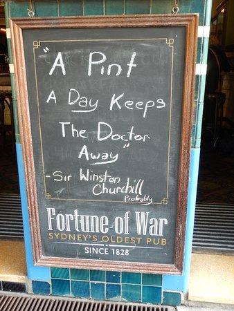 Ship Inn: Good Advice