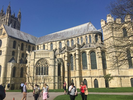 Canterbury Cathedral: A beautiful cathedral from outside