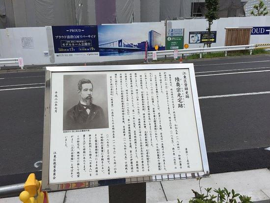Site of Mutsu Munemitsu Residence