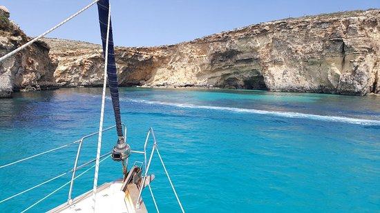 Crystal Lagoon - Picture of Amethyst Sailing Trips, Mgarr - TripAdvisor