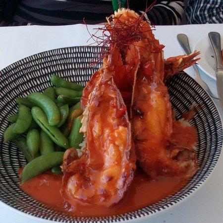 Omeros on the Beach: Garlic prawns, BBQ Bugs & Atlantic Salmon