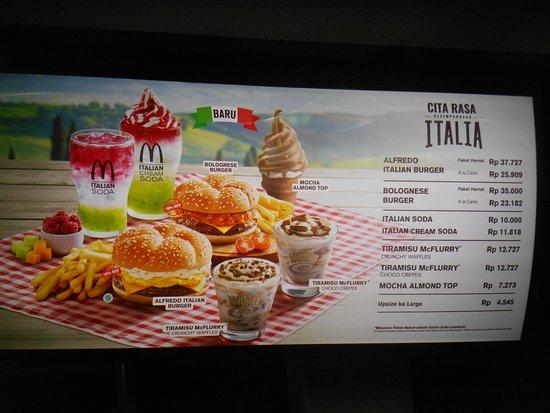 McDonald's Mulyosari : Nota pembelian kami di McD Mulyosari 12 Maret 2018 :)