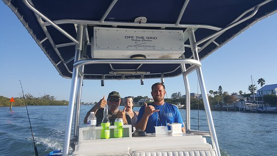 Off The Grid Fishing Charters: Capt Korye and Pop