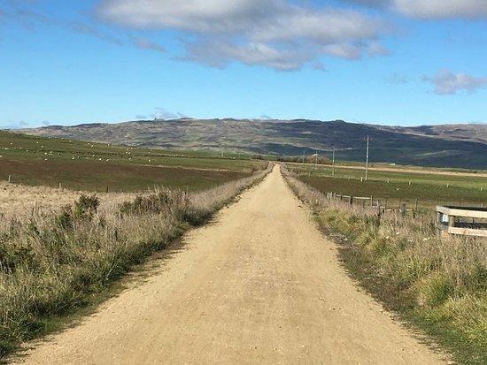 Central Otago, Νέα Ζηλανδία: The road to nowhere