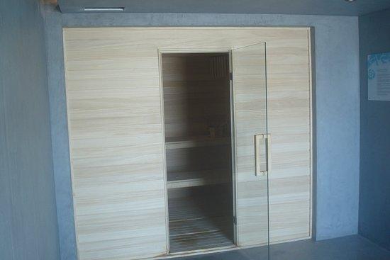 Memmo Baleeira Hotel: sauna voor 6 personen. 80°C