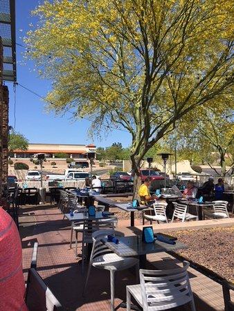 Oro Valley, AZ: View of the patio