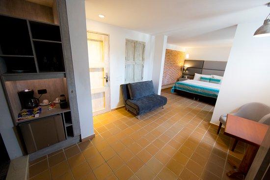 Hotel Casa Baluarte : Vista general Junior suite