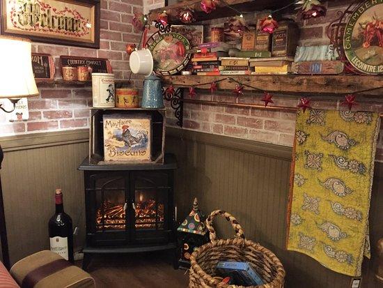 Pompton Plains, Νιού Τζέρσεϊ: Wood burning stove