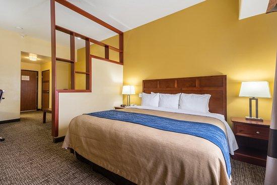 Comfort Inn & Suites Cedar City: King Bed Suite