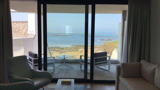 Hôtel Brittany & Spa : Chambre terrasse moderne vue sur mer