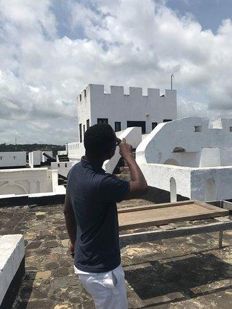 Dixcove, Gana: Rooftop