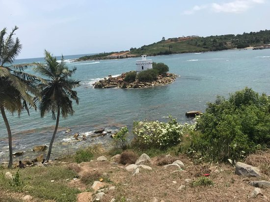 Dixcove, Gana: Lighthouse