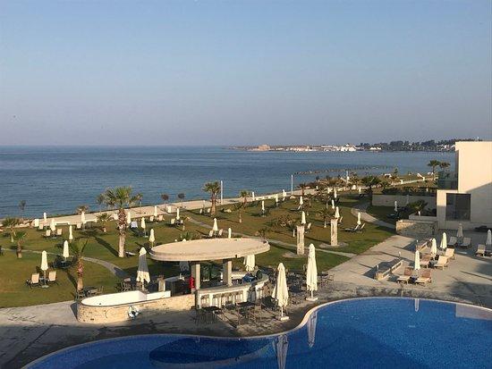 Amphora Hotel & Suites: Výhled z balkónu pokoje