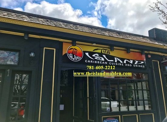 Malden, MA: Front of the restaurant.