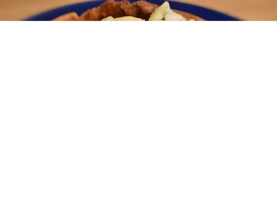 East Providence, RI: Chicken Waffle
