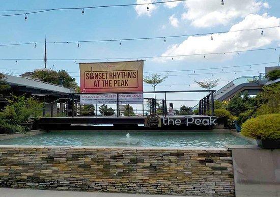 Davao City, Philippines: il palco per la band