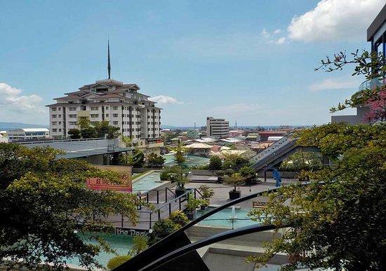 Davao City, Philippines: verde e acqua
