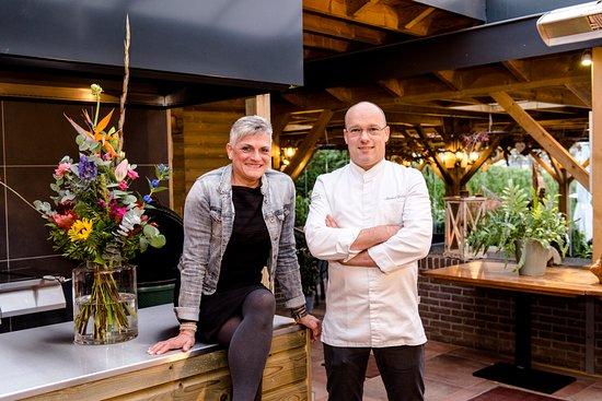 Alblasserdam, Hollanda: Michel en Marijke Dekker