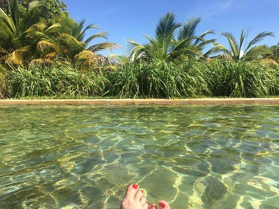Parajuru, CE: la piscine naturelle, pas de chlore ni de produits chimiques