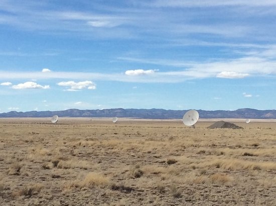 Very Large Array: Extended array, but not the most extended!