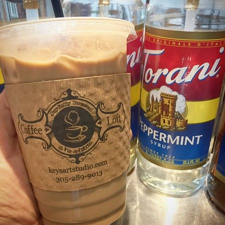 The Art Studio : The Coffee Loft is always stocked with gourmet espresso drinks, hot iced and frozen. Cold Brew t