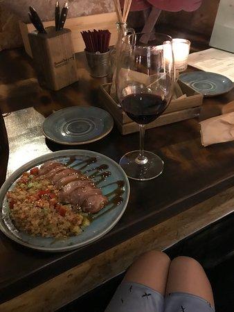 Винный базар: Вкусная утка и вино)
