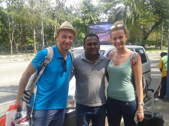 Sigiritrip Tours: our driver funny man akalanka