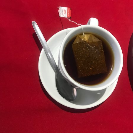 Serowe, Botswana: Tea break? We've got you covered! Stop by and have your tea or coffee anytime from 0600 to 2200