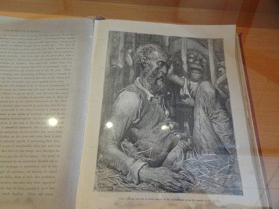 Museo Cervantino: Don Quichotte, édition londonnienne de 1867 illustrée par Gustave Doré