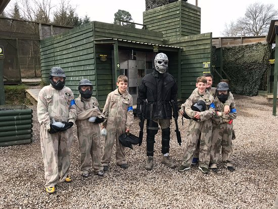 Delta Force Paintball Crawley