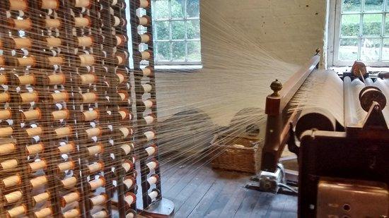 Styal, UK: loom