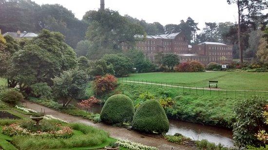 Styal, UK: in the rain