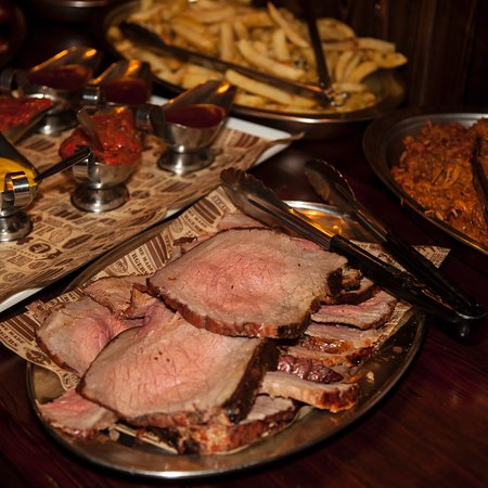 The Red Bar and Grill: Buffet food for private party