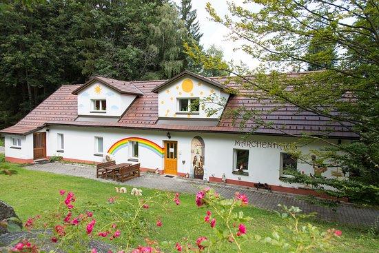 Moorbad Harbach, Austria: Märchenausstellung im Nebenhaus